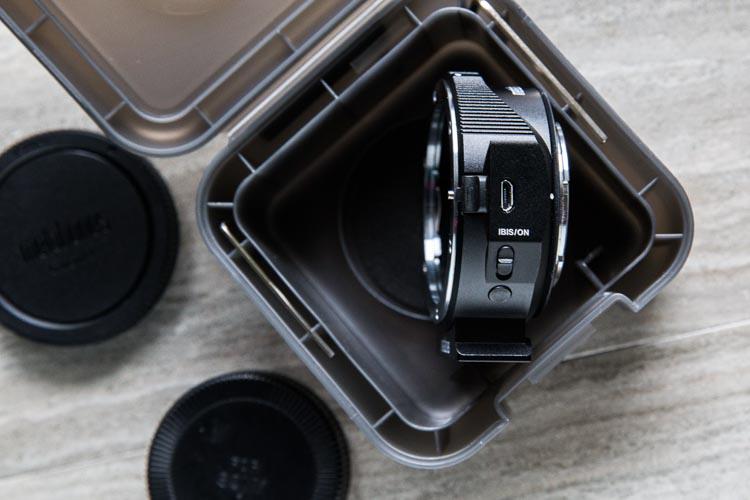 Metabones V Canon EF Sony E-Mount adapter