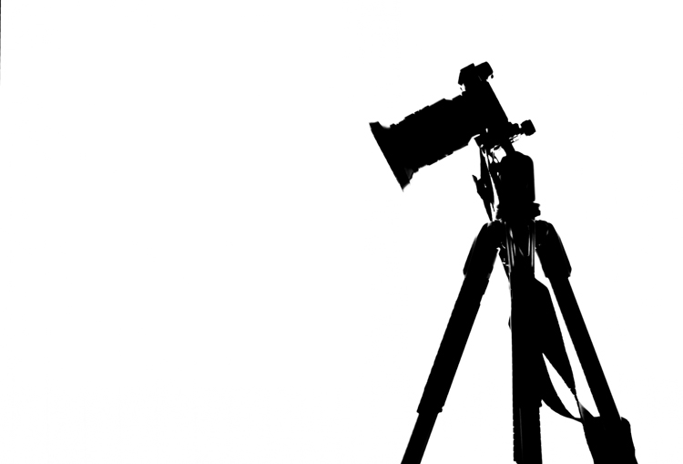 silhouette of a camera on a tripod - More Lessons from the Masters of Photography: Edward Weston