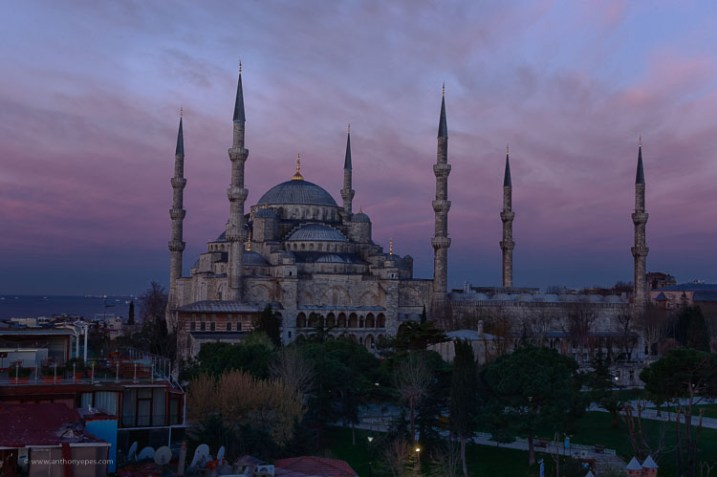 Blue mosque Instanbul - How to overcome your technical or artistic shortcomings and improve your photography