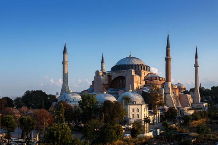 Hagia Sofia Istanbul - How to overcome your technical or artistic shortcomings and improve your photography