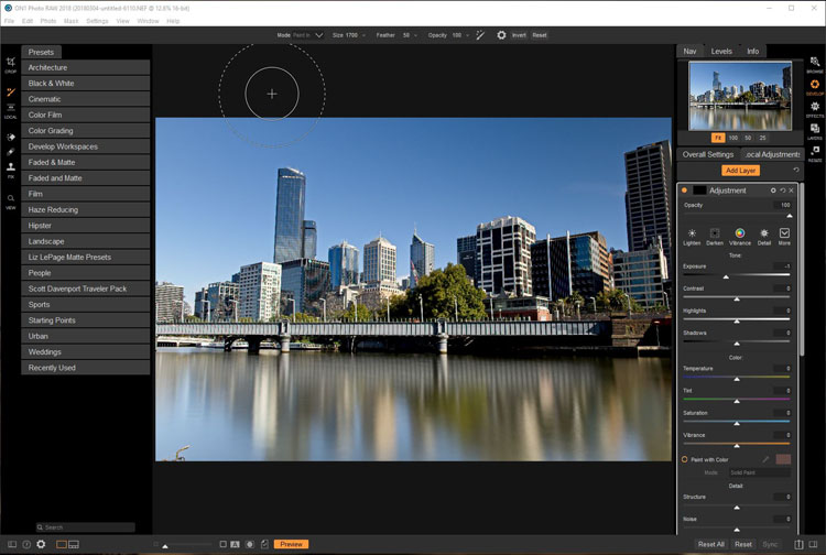 Software Review - ON1 Photo RAW 2018.1 - develop