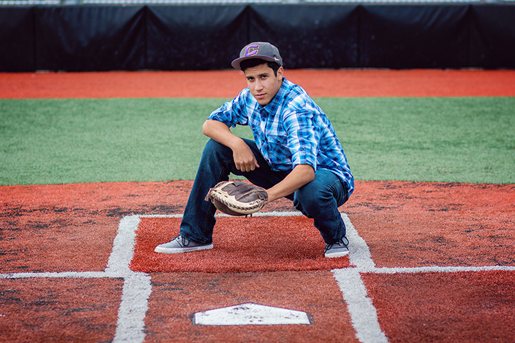 a young man posing on a baseball field - How to do Gentle Posing: A Collection of Prompts to Get You Started