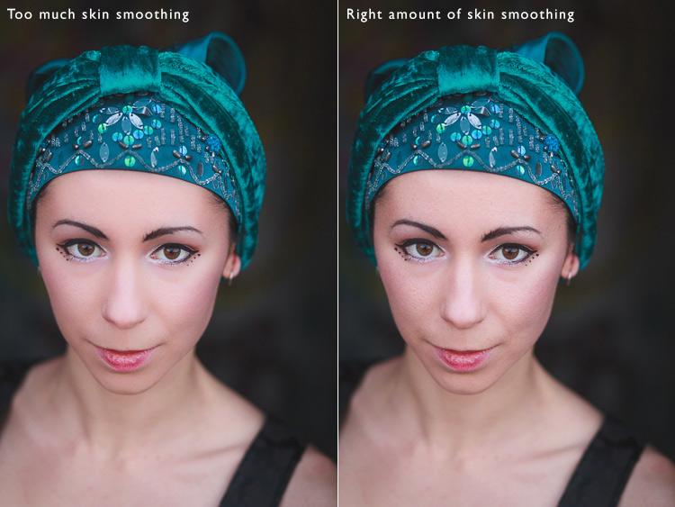 Portrait retouching mistakes