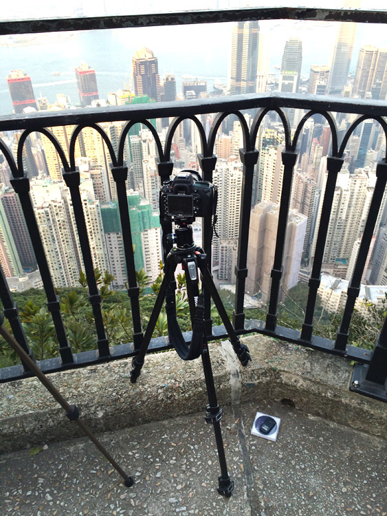 Victoria peak - Avoid Long Exposure Photographers' Worst Nightmare by Setting Your Tripod Low
