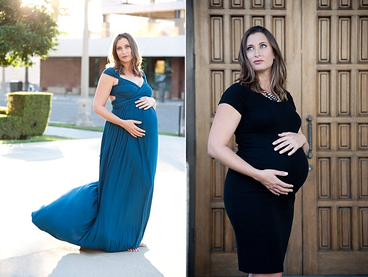 How to Find and Use Natural Light Reflectors for Portraits - maternity portraits in natural light