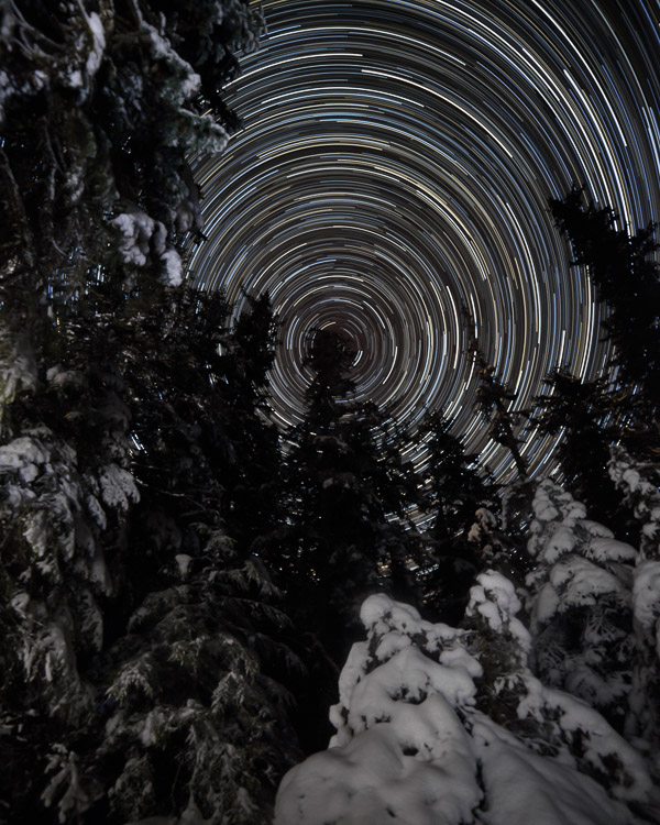 Star Trails, Alaska, Tutorial, Starlapse - 7 Tips for Shooting and Processing Star Trails