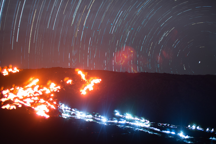 Star Trails, Hawaii, Tutorial, Starlapse