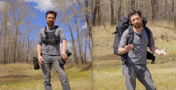 Quick Video Review – What is the Best Camera Bag or Way to Carry Your Gear?