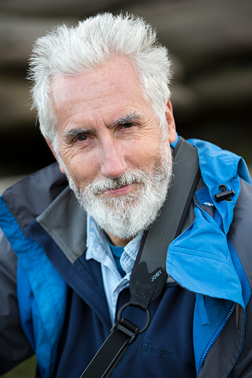 portrait of a man with gray hair - How a Studio Photographer Came to Love Natural Light Again