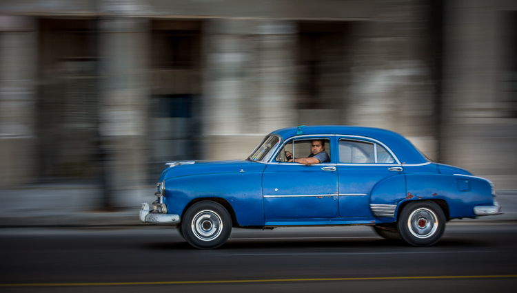 Image: In this image, a slower shutter speed like 1/30th was used to blur the background, while keep...