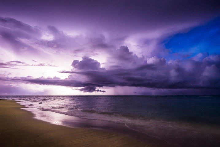 Thunderstorm off the coast of Cuba - 12 Good Reasons Why You Should Start a Photography Blog