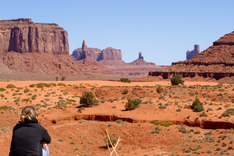 Monument Valley in Harsh Light - How to Photograph Your Family Vacation