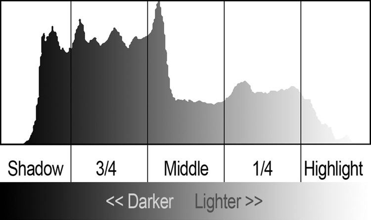 5 Zone Histogram