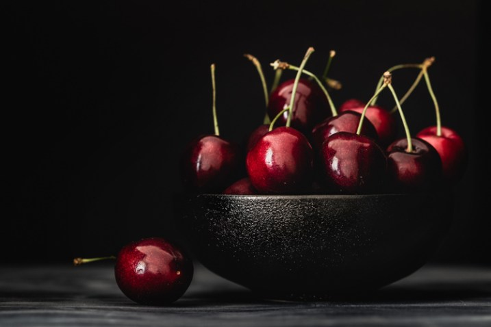 cherries in a bowl - 9 Ways to Create Balance in Your Photography