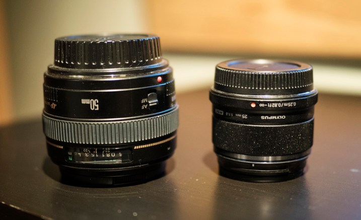 Making Sense of Lens Optics for Crop Sensor Cameras - two lenses for comparison