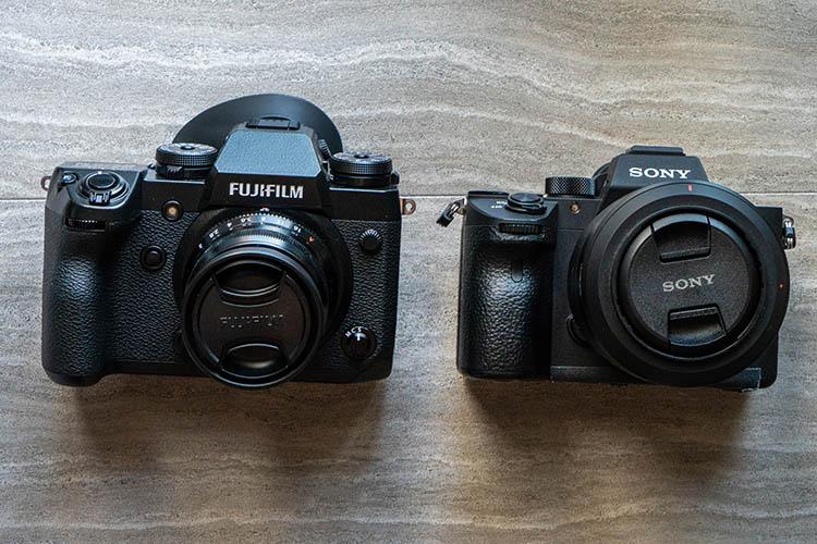 Camera Comparison - The Fujifilm X-H1 Versus the Sony a7R III