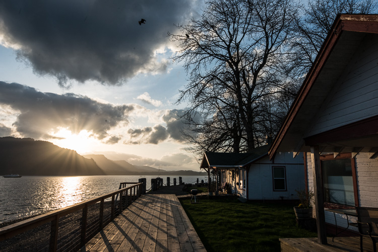 sunset over a hill and wooden walkway view - Review of the Sigma 14-24mm F2.8 Art Lens