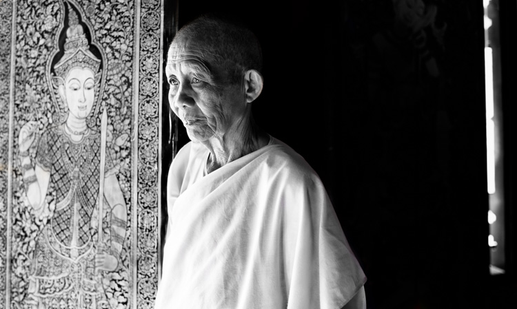 Buddhist nun portrait - 7 Tips for How to Fix Bad Lighting