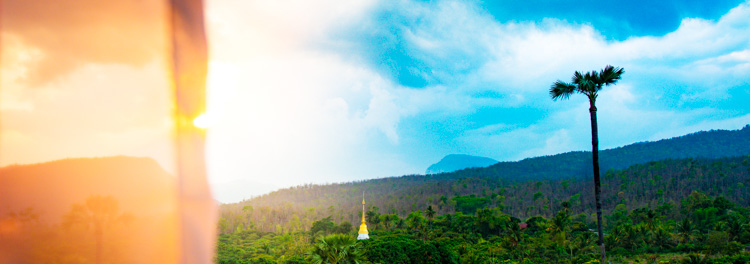 Landscape photo of Thai mountains - How to Find Inspiration for Your Photography