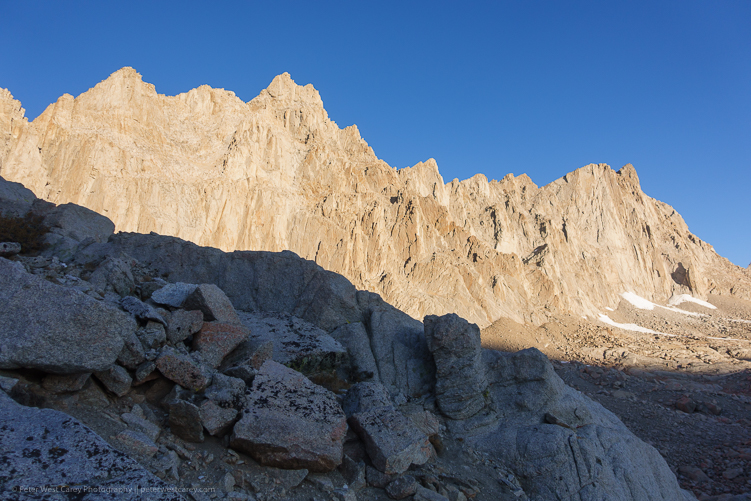 Image: Mt. Whitney – USA ISO 80, f/2.2, 1/1000th.