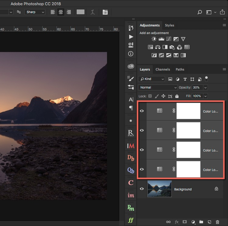 Combined LUTs - How to Create Your Own Style by Using LUTs in Photoshop