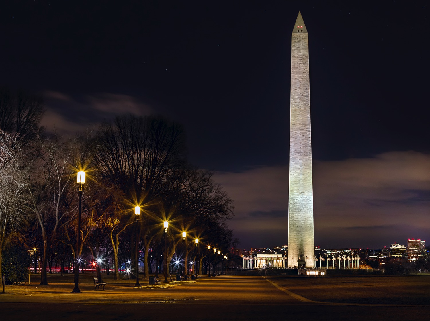 Washington Monument - dPS Ultimate Guide to Night Photography