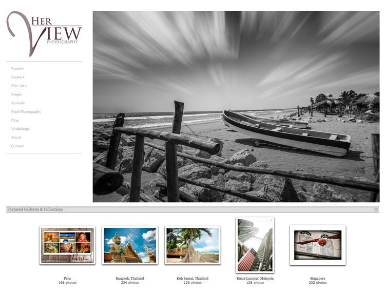 Image: Zenfolio photography portfolio of Darlene Hildebrandt, dPS Managing Editor.