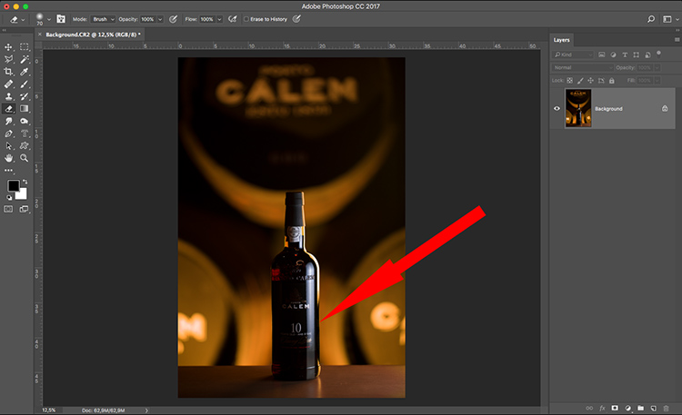 Photograph wine bottle composite 05