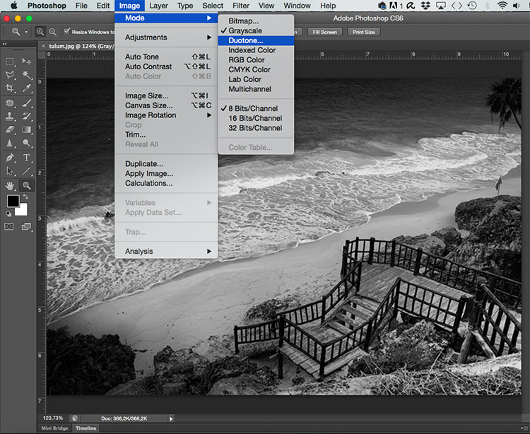 Duotone Tonal Effects Photoshop Tutorial