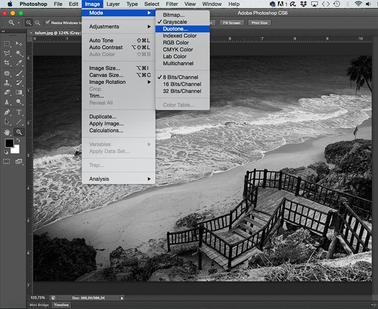 Duotone Tonal Effects Photoshop Tutorial