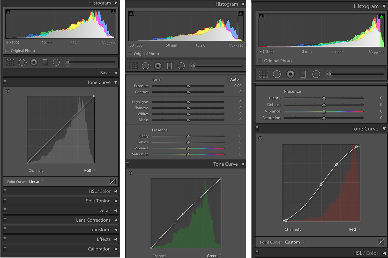 Color Adjustments in Lightroom Tone Curve Adjustments & How to Make Color Adjustments Using Tone Curves in Lightroom
