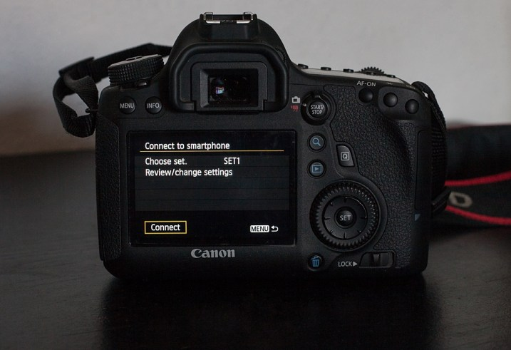Image: SET1 is the name I gave it in my camera's menu. If you go into change/review settings y...