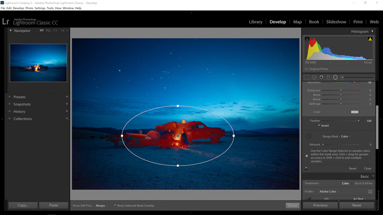 An In-Depth Look at the Range Mask in Lightroom Classic CC