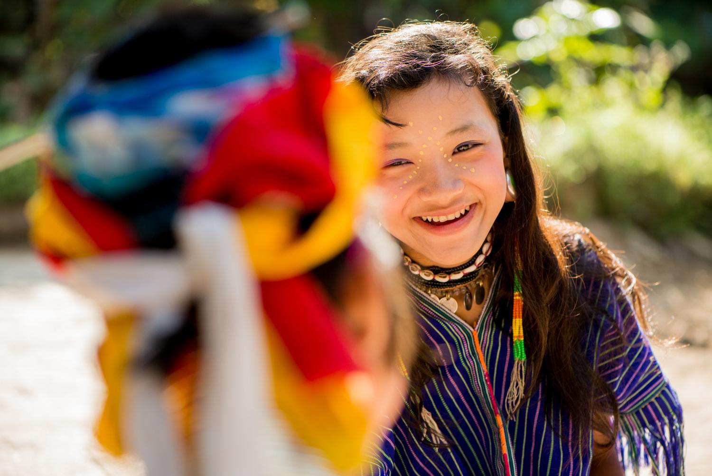 Kayaw Ethnic Minority Girl by Kevin Landwer-Johan