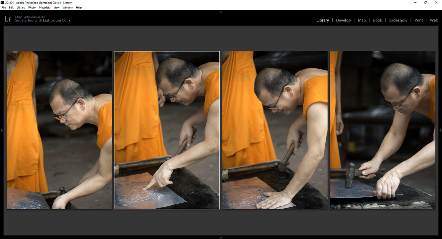 lightroom compare images side by side - Tips for Culling Your Photos