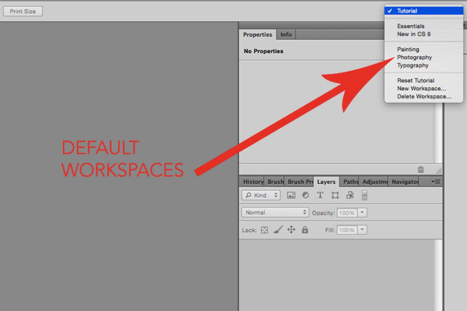 How to Setup the Photoshop Interface and Workspace for Maximum Efficiency