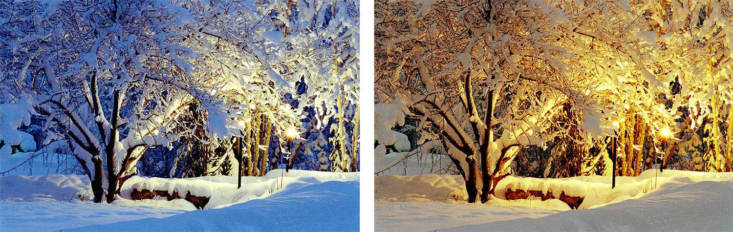 White Balance Alaska - How Color Balance Can Kill Your Color