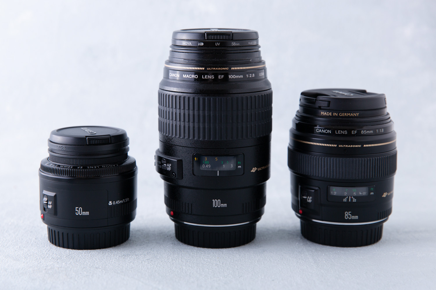 Image: Lenses I use.
