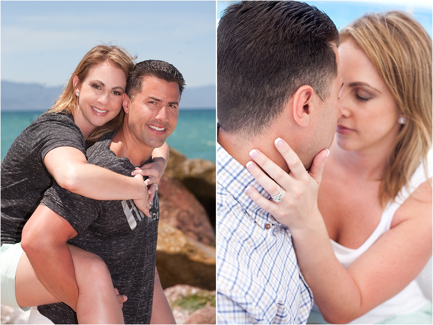 Using Flash for Beach Portraits - portrait of a couple