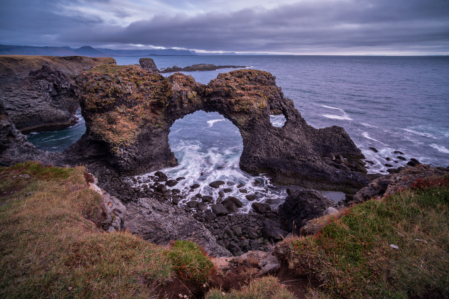 Gatklettur, or Arch Rock, in Arnarstapi, Iceland - 10 Dos and Don'ts for Mastering Your Tripod