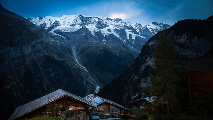 Gimmelwald - How to Use Neutral Tones to Craft Realistic Edits for Landscape Photos