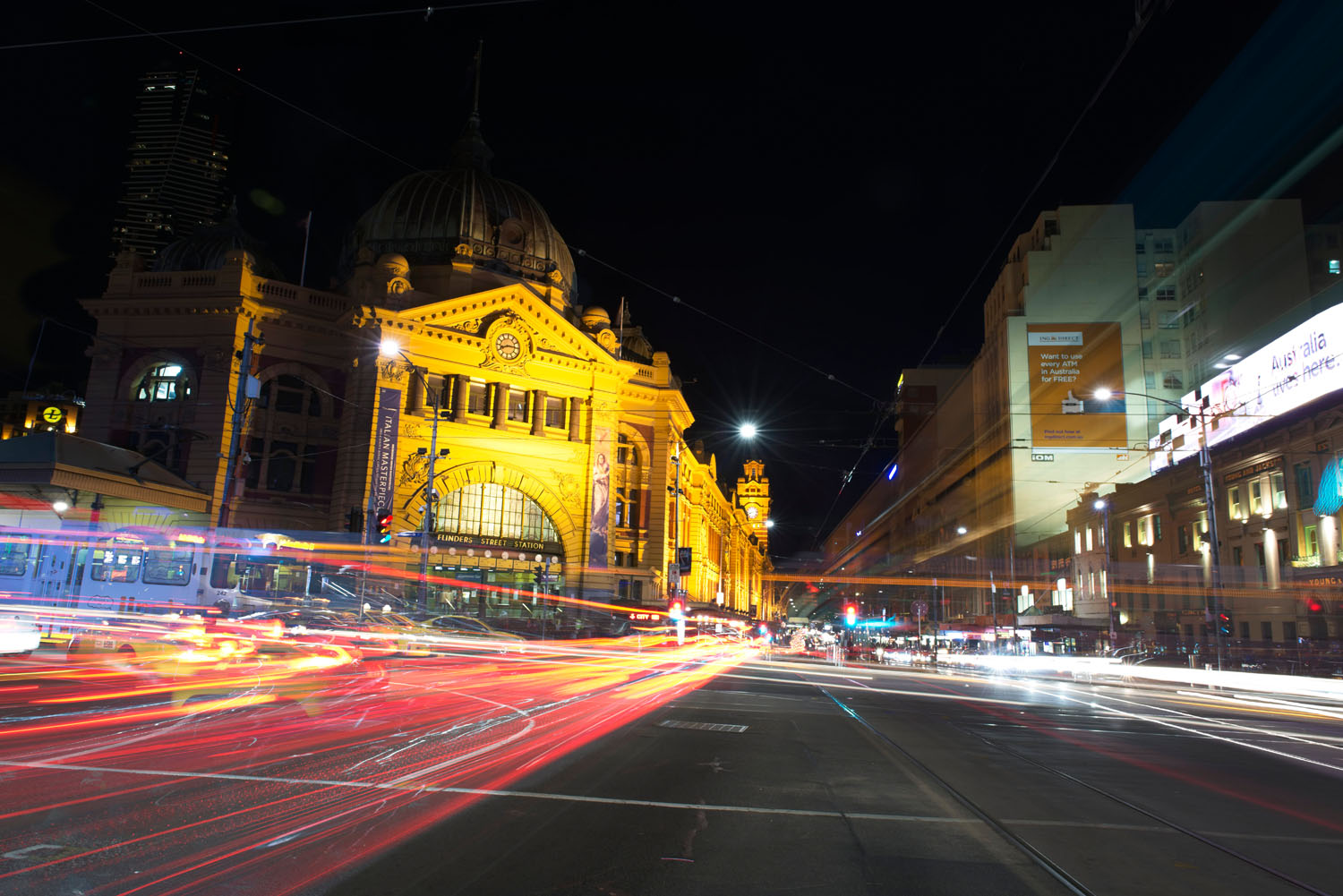 light trails image - Tips for Processing Night Photography with ON1 Photo RAW 2018