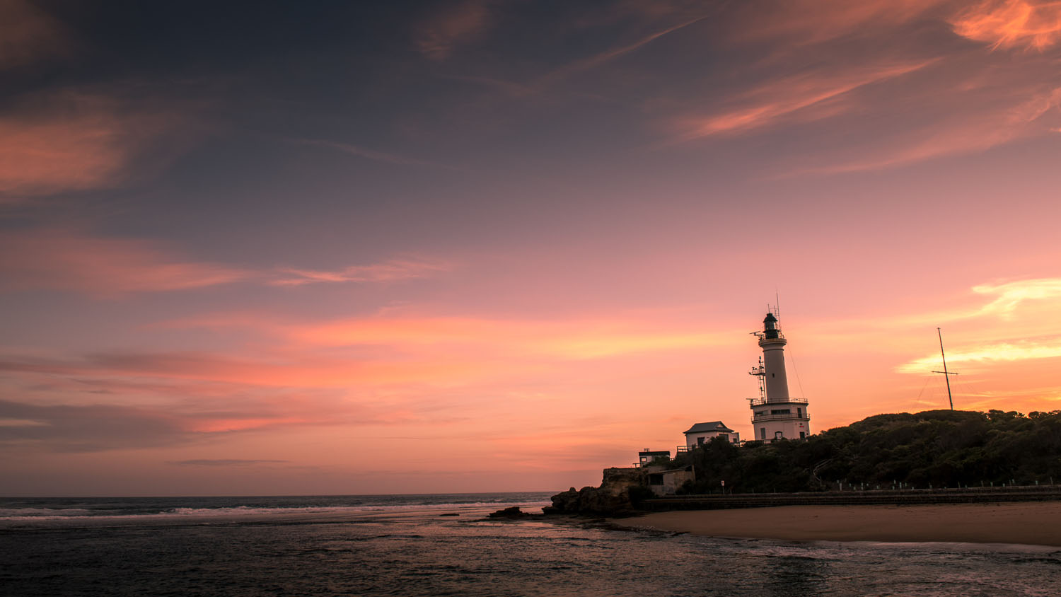 Time-Lapse Photography – Beyond the Basics - sunset and lighthouse