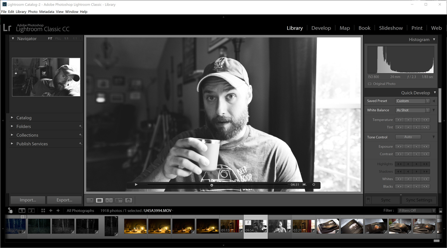 Lightroom Tricks: How to Process Video in Lightroom Classic CC