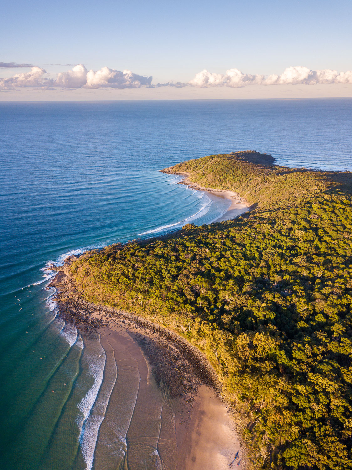 How to Work the Scene to Get More Great Photos - aerial view of coastline