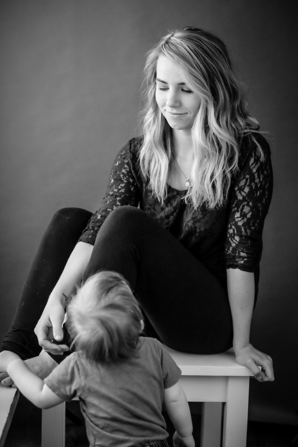 Portrait of a mother and her son - 4 Tips for Helping People Feel Comfortable During Their Portrait Session