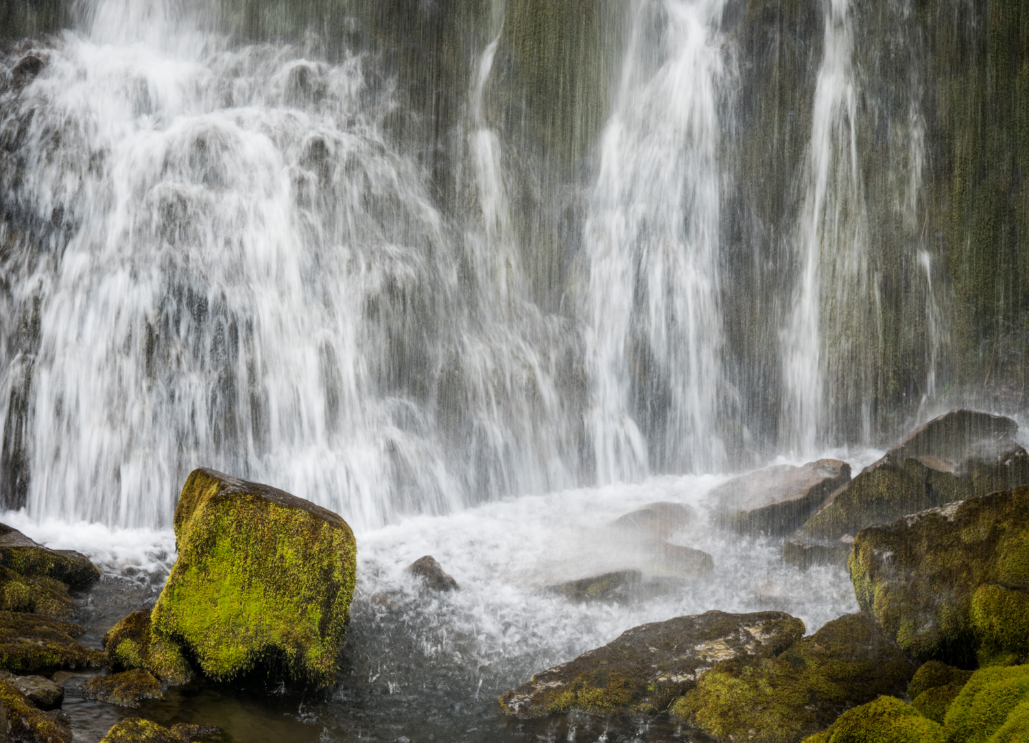 Review of the Olympus 300mm F4 PRO Lens - waterfall in Alaska