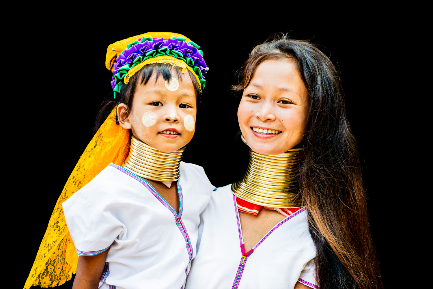 Long neck Kayan mother and daughter -  7 Steps to Find Inspiration so You Can Create Phenomenal Photographs