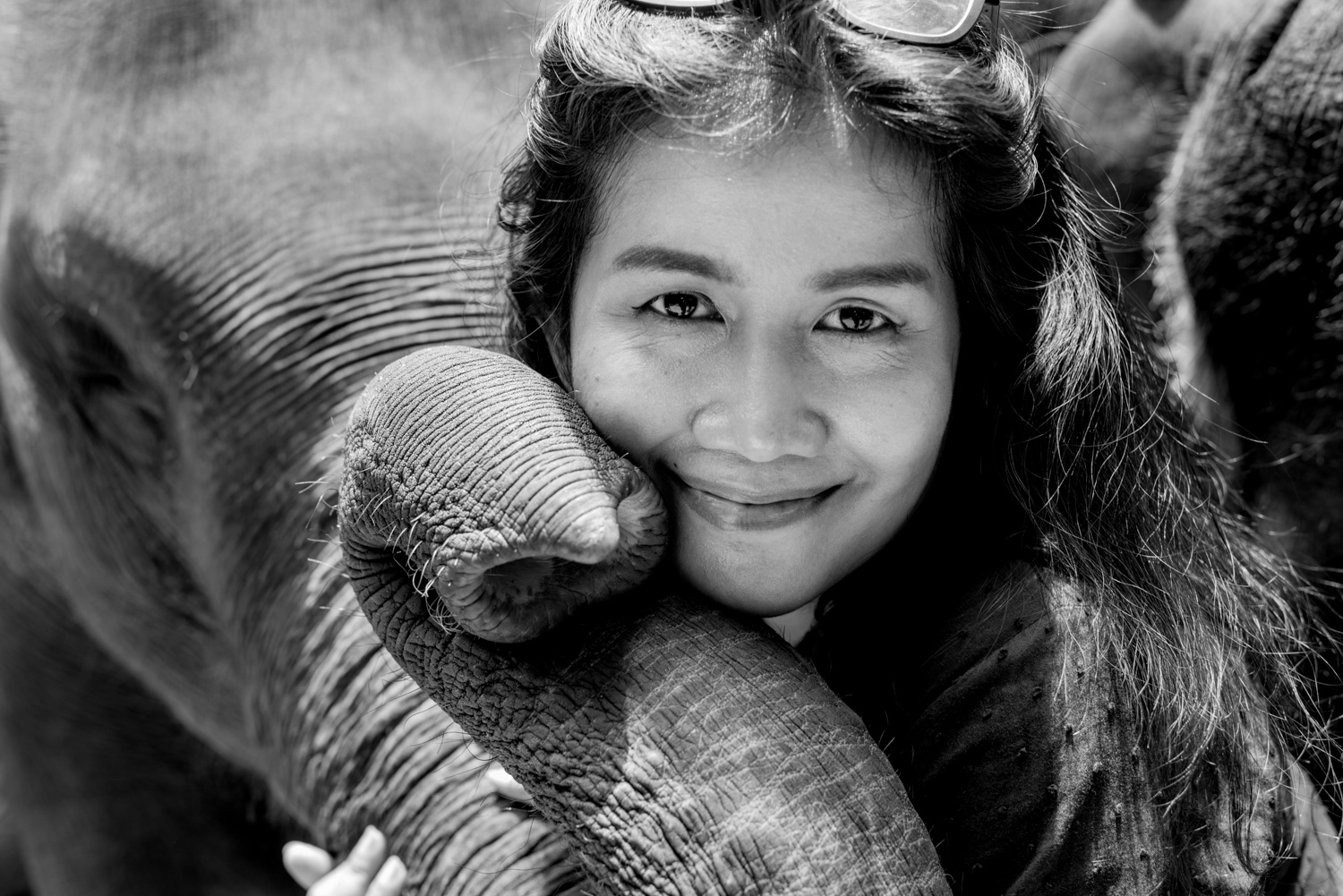 Woman and elephant - 7 Steps to Find Inspiration so You Can Create Phenomenal Photographs
