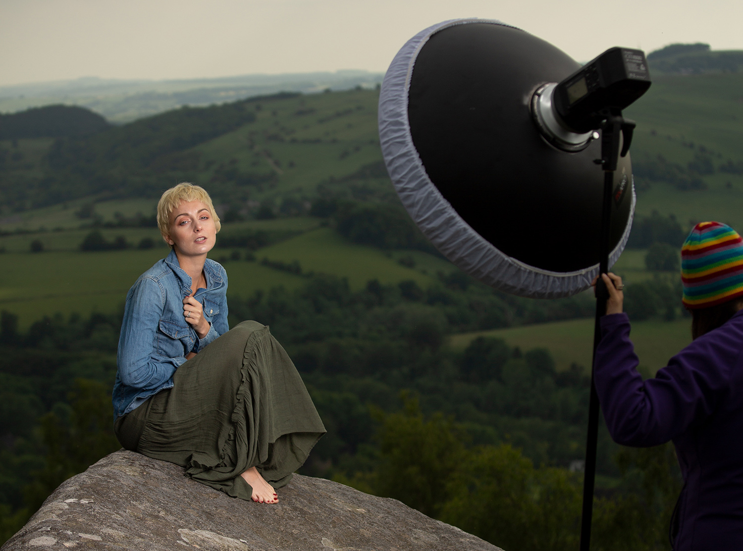 outdoor portrait setup - Light Review: The PiXAPRO CITI600 Portable Strobe (Godox Wistro AD600BM)